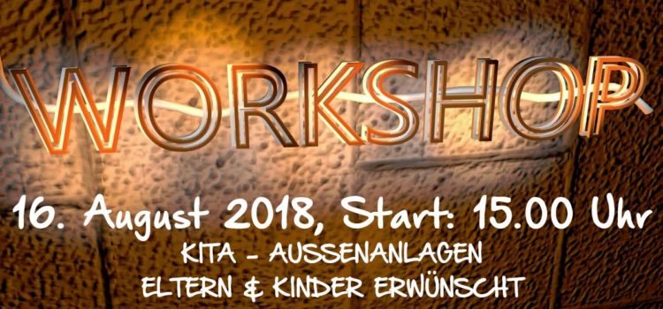 WORKSHOP Außenanlagen am 16. August
