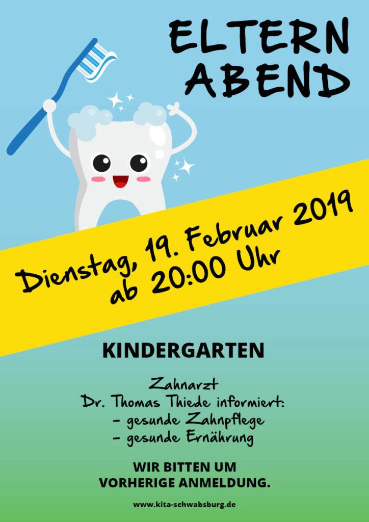 Elternabend KiTa Schwabsburg Zahnpflege