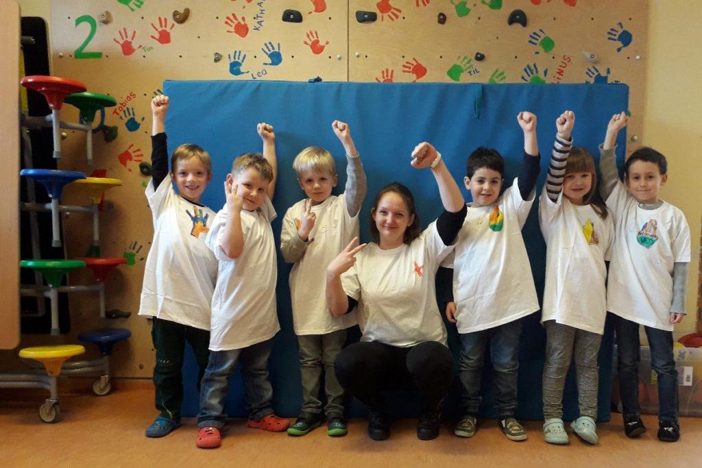 Das Fussball-Projekt in der KiTa Schwabsburg