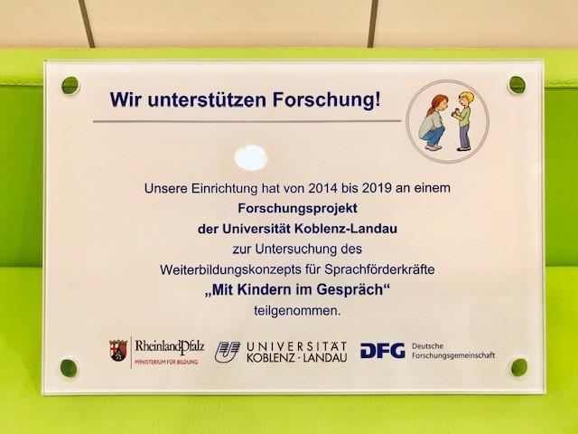 Sprachförderung an der KiTa Schwabsburg